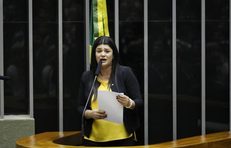 Deputada Rose Modesto (PSDB-MS) em Plenário. Foto: Luis Macedo/Câmara dos Deputados