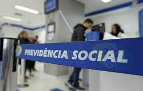 Agência do INSS. Foto: Agência Brasil