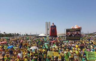 Manifestação em Brasília. Foto: Vem pra Rua/divulgação