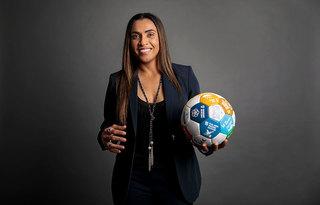 Jogadora Marta / Foto: ONU