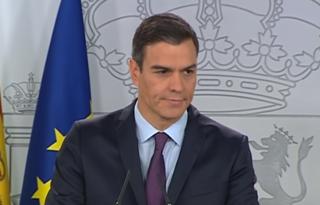 Primeiro Ministro da Espanha, Pedro Sánchez.