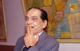 Foto: Aldemar Vigário, estrelado na década de 1990 na famosa Escolinha do Professor Raimundo, foi um dos personagens marcantes de Lúcio Mauro / Foto: Acervo Globo