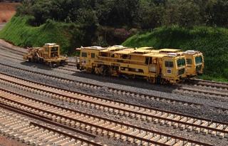 Ferrovia Norte-Sul – subtrecho Palmas/TO – Anápolis/GO. Foto: PAC