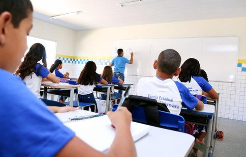 Sala de Aula - Foto: Márcio Vieira/Governo do Tocantins