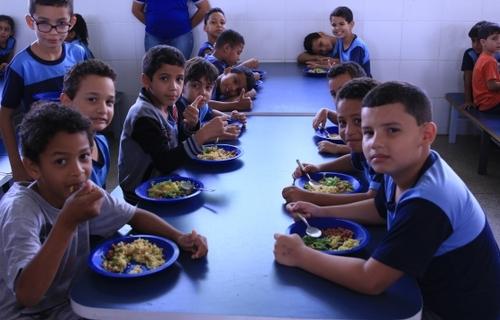 Programa Nacional de Alimentação Escolar. Foto: FNDE