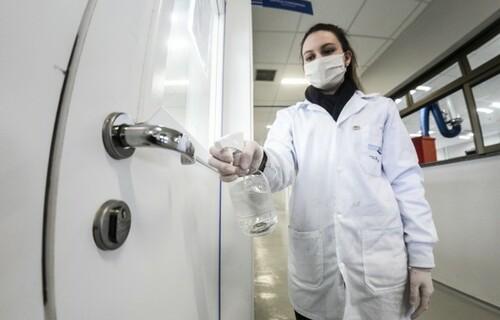 Spray antiviral. Foto: FIEP