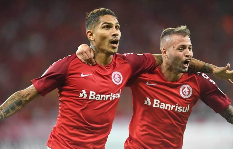 Guerrero e Nico López foram os destaques da partida no Beira Rio - Foto: reprodução/Internacional