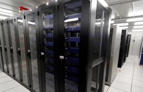Super computador TSE. Foto: Divulgação/TSE