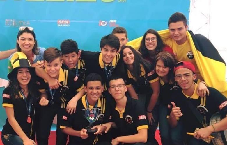 A equipe se classificou para o torneio nacional em 4º lugar na etapa regional em novembro de 2018 em Presidente Epitácio (SP) / Foto: arquivo pessoal
