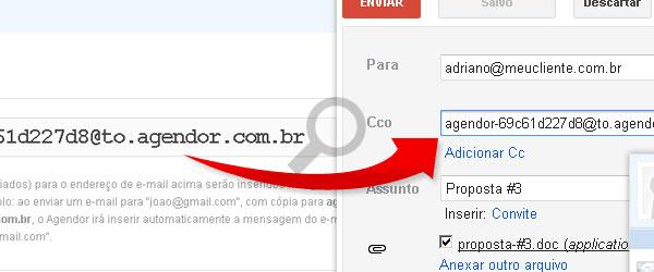 Utilizando o Email do Agendor