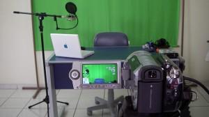 O Agendor em uma produtora de vídeo.