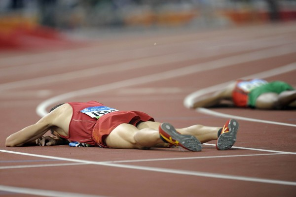 A dúvida desestrutura o mais preparado dos atletas