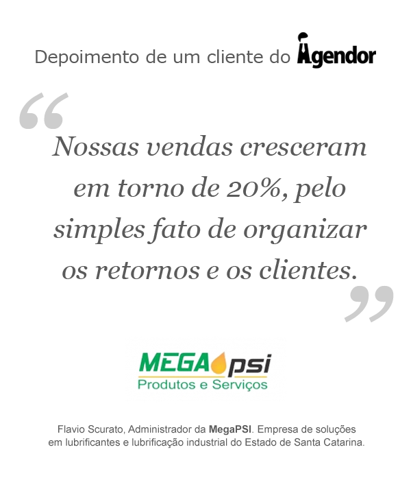 Depoimento de um cliente do Agendor: MegaPSI