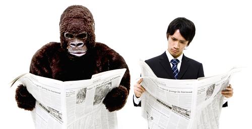 O Gorila Invisível mostra que nem sempre vemos aquilo que achamos que vemos.