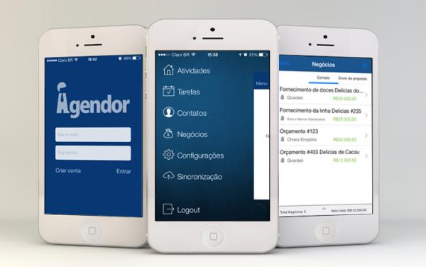 Seu aplicativo se comunica de maneira simples com todas as suas atividades de vendas?