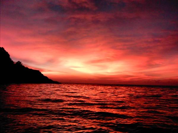 Oceano vermelho