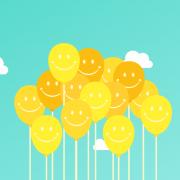 vendedor feliz