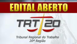 Técnico Judiciário - Área Administrativa - TRT SE - 20ª Região
