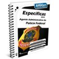 Específicas para Agente Administrativo da Polícia Federal - PF