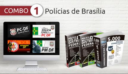 Streaming combo policia brasilia cursos