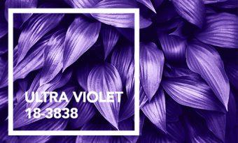 Formas simples de decorar com Ultra Violeta, a cor de 2018 segundo a Pantone