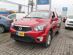 auto usado ssangyong new actyon sports 2.2 mt 4x2 full 2018 en venta 12990000 0