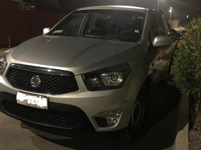 SSANGYONG ACTYON  SPORT 4x2 AC 2013