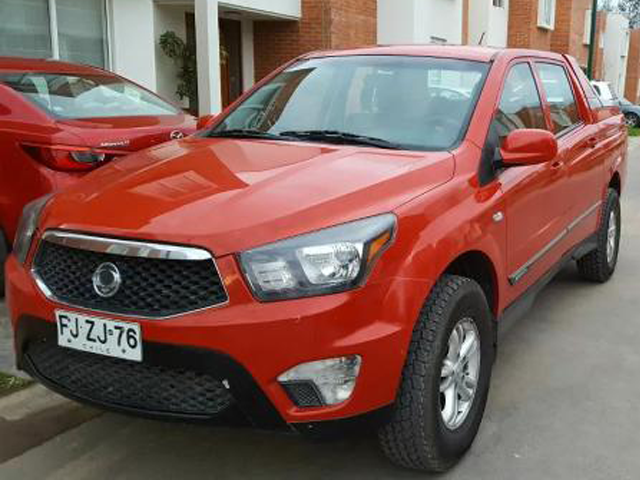 SSANGYONG ACTYON  SPORTS 4X4 2AB ABS LL 2013