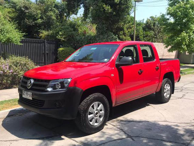 VOLKSWAGEN AMAROK  POWER PLUS PE AT8 4MOTI 2014