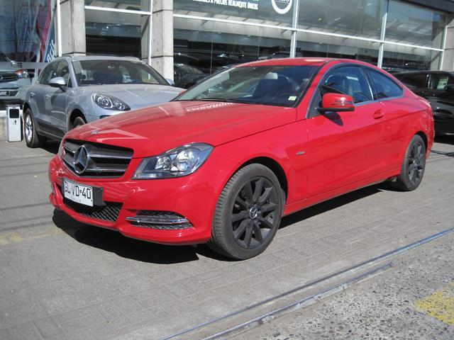 MERCEDES BENZ C 180  C180 BLUE EFFICIENCY COUPE 2014