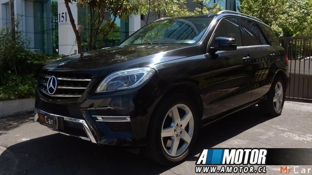 MERCEDES BENZ ML 350 4 MATIC 2015
