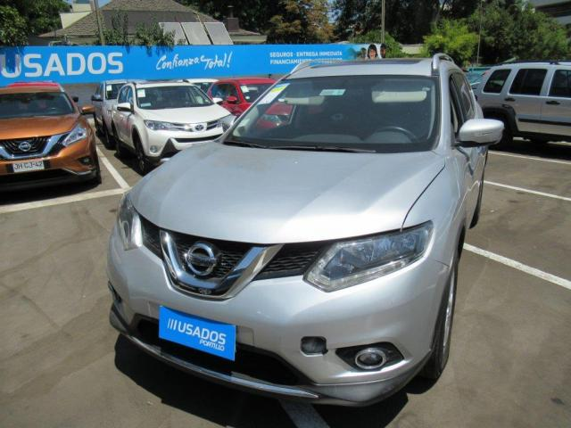NISSAN X-TRAIL  2.5 advance cvt 2015