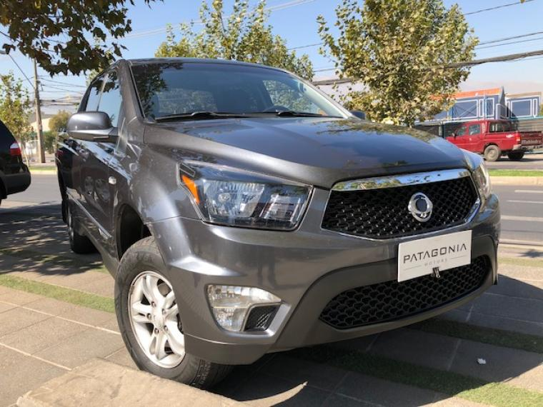 SSANGYONG ACTYON SPORT 4X4 MT UNICO DUENO 2015