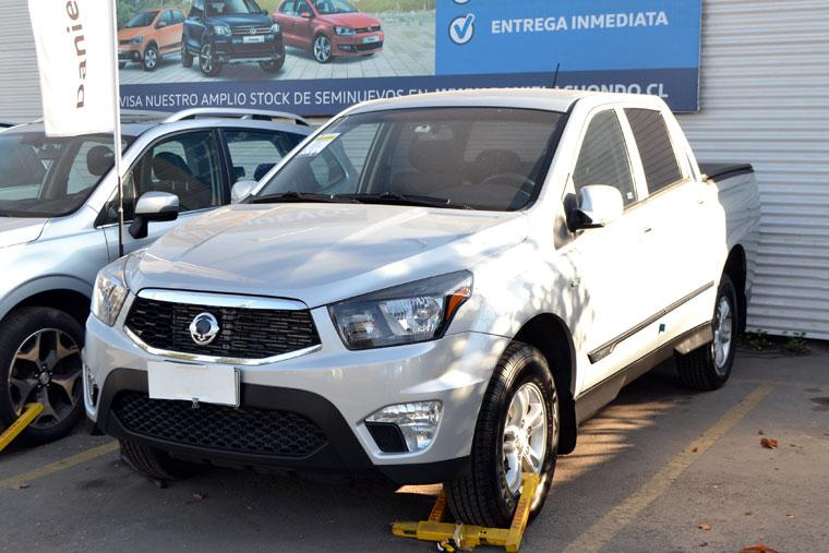 SSANGYONG ACTYON  SPORT 2.2 2018