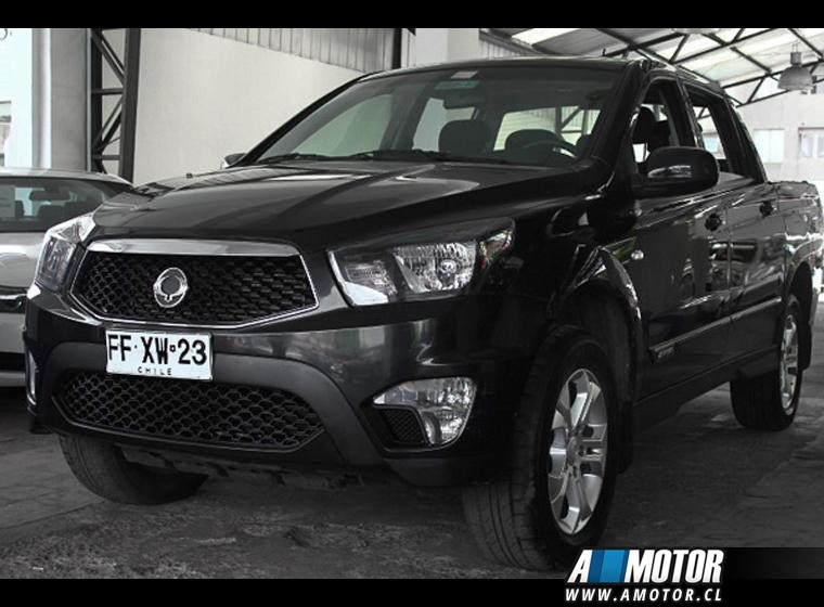 SSANGYONG ACTYON  SPORT 4X4 2.0 AT 2013