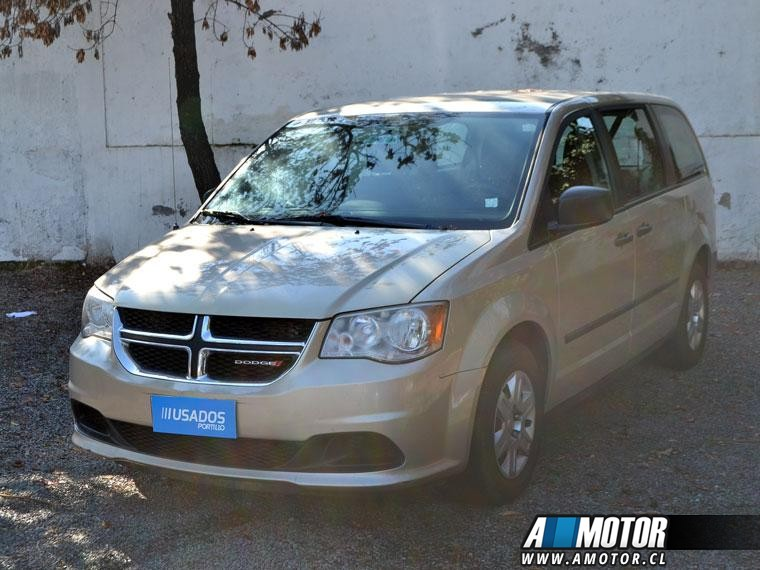 DODGE GRAND CARAVAN TRES CORRIDAS ASIENTOS 2013