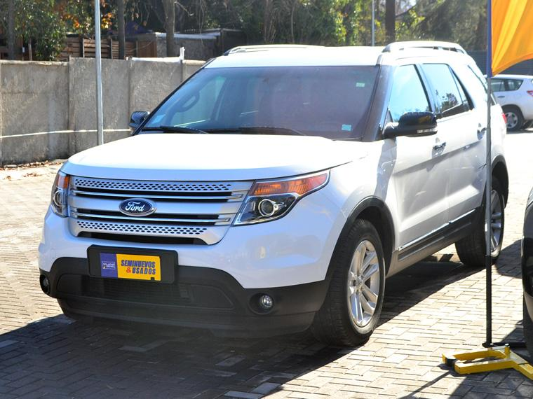FORD EXPLORER  XLT 3.5 AUT 4X2 LLAME NO DUDE 2015