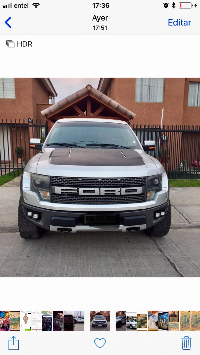 FORD RAPTOR 4X4 SVT FULL 2013