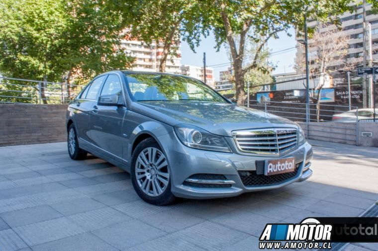 Venta de Auto usado en Las Condes MERCEDES BENZ C 200  BLUE EFFICIENCY ELEGANCE RADIO COMAND 2012 10190000 1