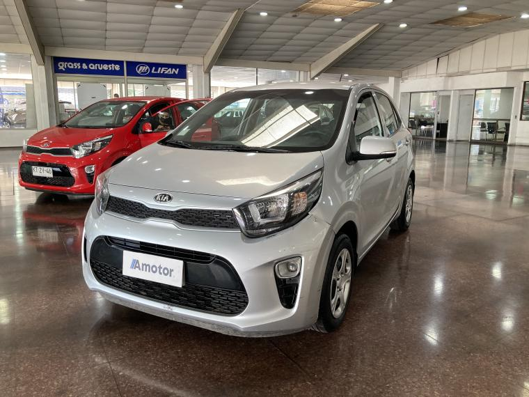 Kia Morning  Ex 1.2 Mt Abs Ac 2018  Usado en Grass & Arueste Usados