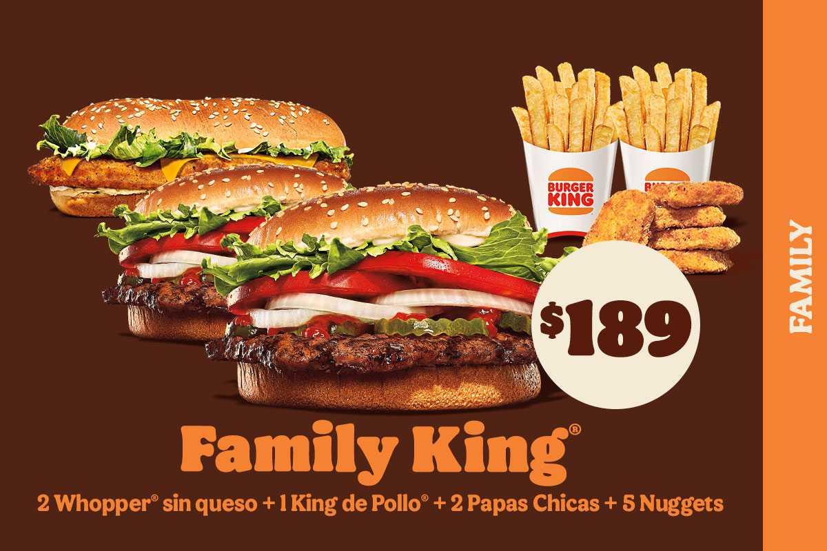 Promociones y Cupones Burger King
