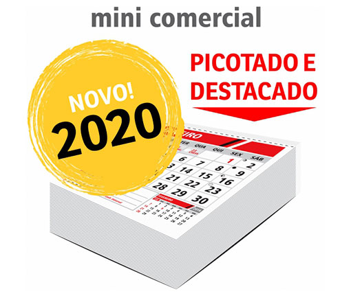 OUTLET ZAP CALENDARIOS BLOCO DE CALENDARIO - CBMC2020C