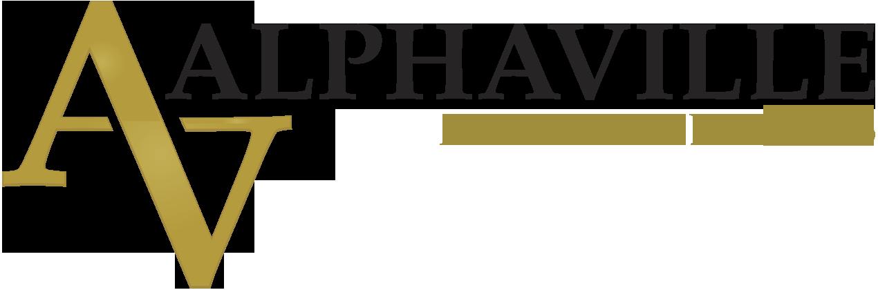 Logotipo da casa de leilão Galeria Alphaville