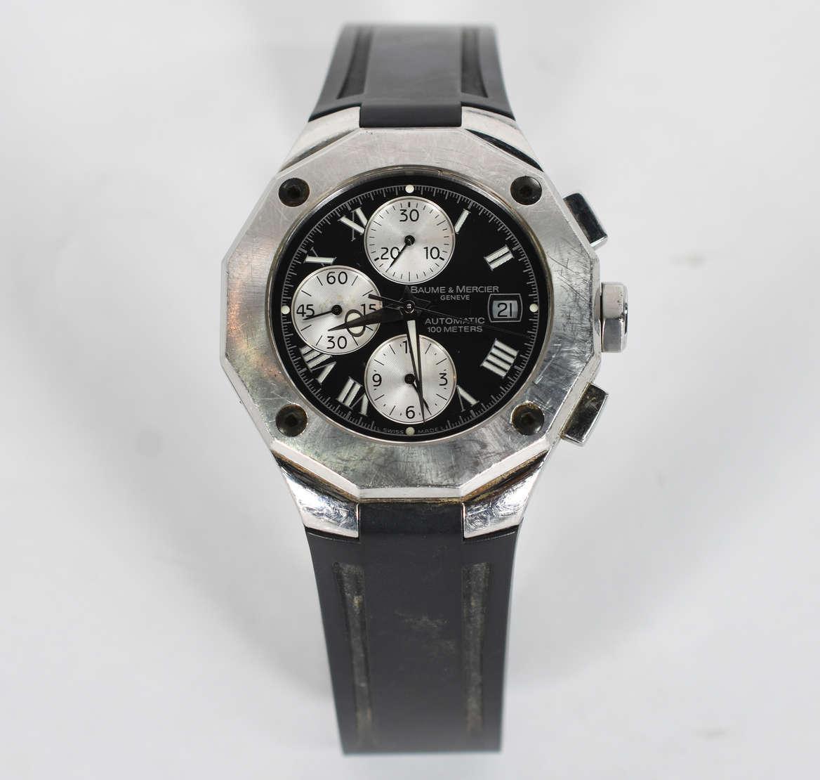 0b5ff35347f Relógio BAUME   MERCIER