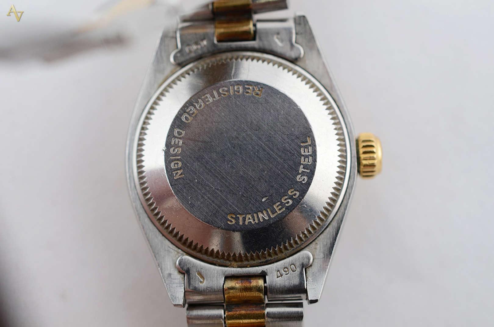 f11a374190a ROLEX - Relógio feminino au... - ROLEX - Relógio feminino automático