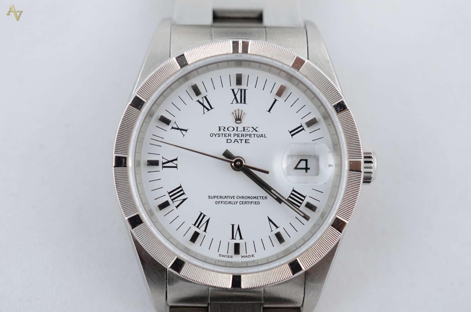 b9abefbfd7e ROLEX OYSTER PERPETUAL DATE - Relógio masculino