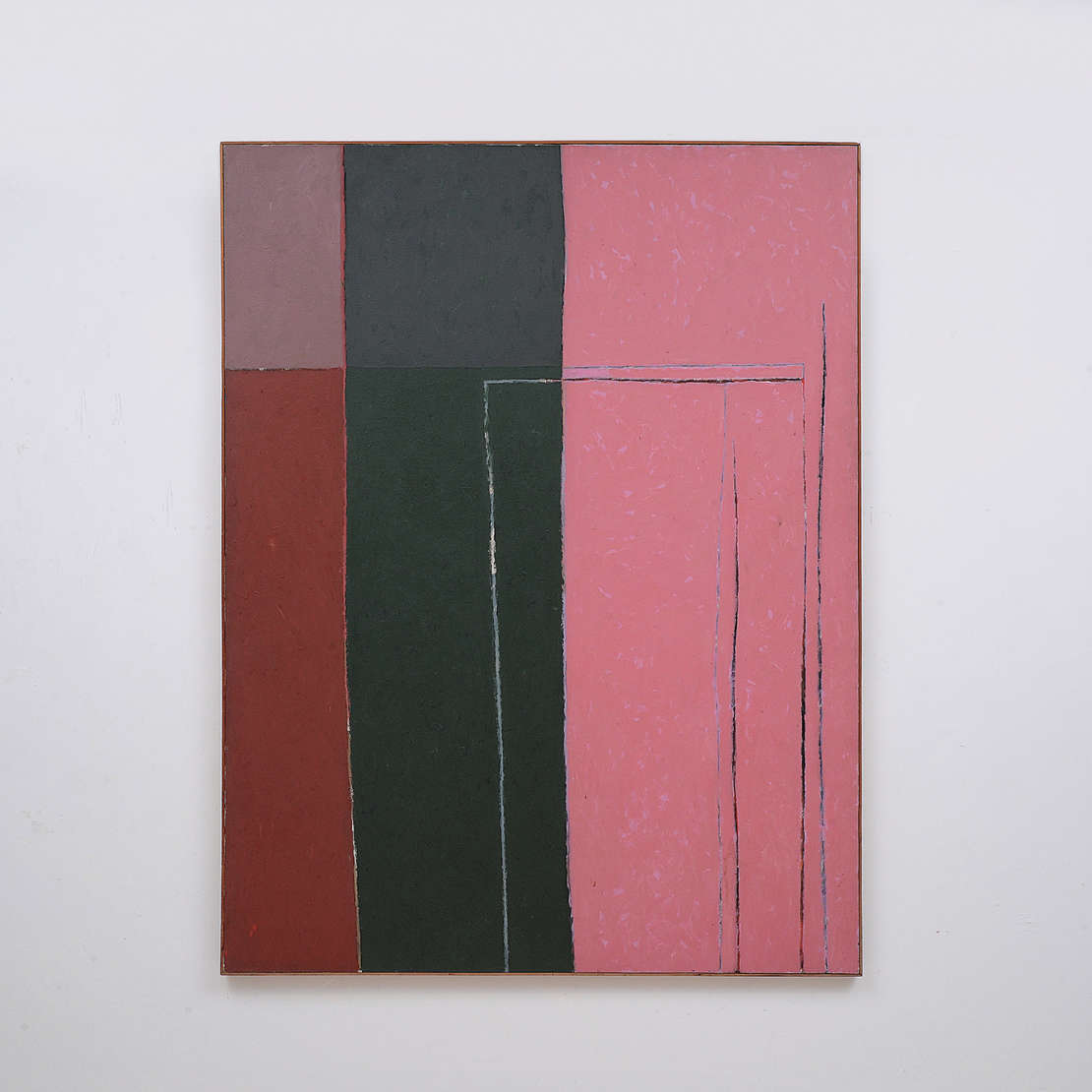 Gonçalo Ivo (1958), PINTURA ROSA, 1987 - Óleo s/ tela
