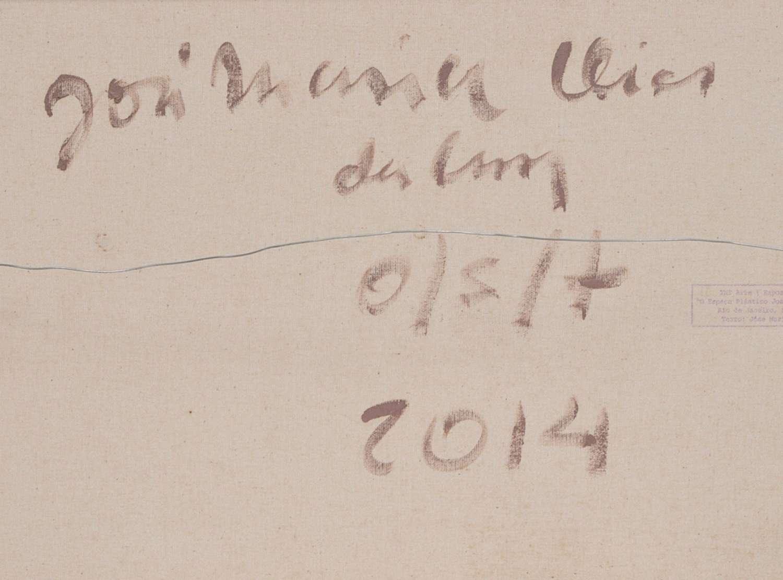 """José Maria Dias da Cruz (1935), Sem título, 2014 - Óleo s/ tela<br>Ass. verso<br>Participou da exposição """"As cores no mundo de JM"""" com curadoria de Marcus Lonta em 2013 e está reproduzida no catálo..."""
