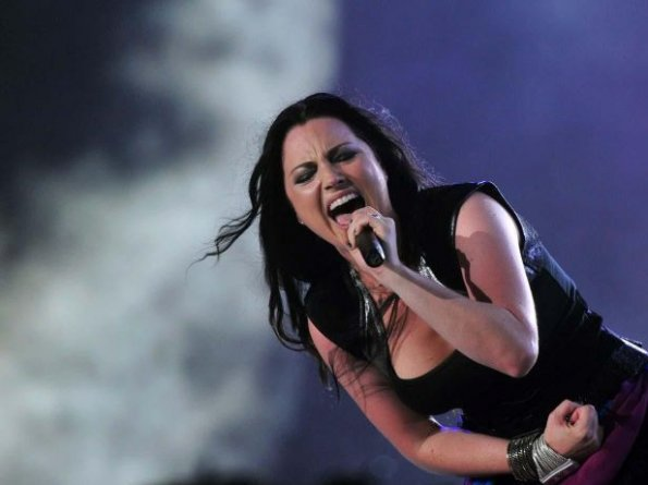 Amy Lee, vocalista de Evanescence.