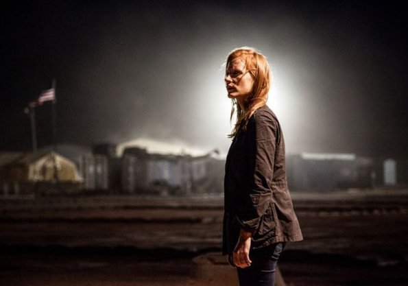 "Jessica Chastain en ""Zero Dark Thirty"""